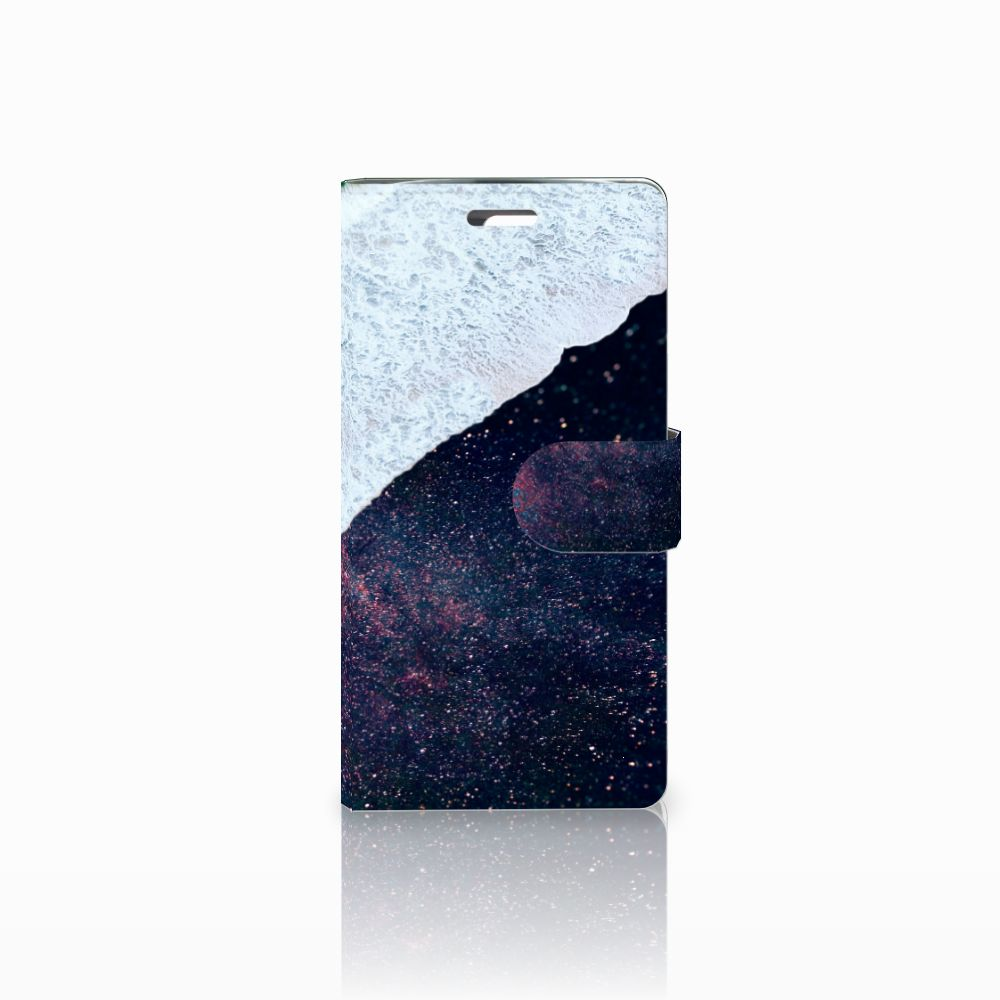LG K10 2015 Boekhoesje Design Sea in Space