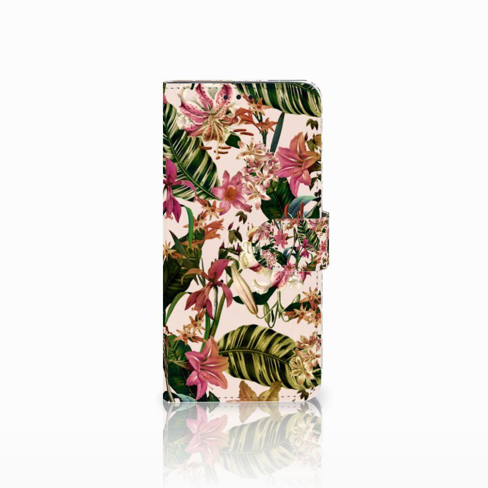 Huawei Nova 4 Uniek Boekhoesje Flowers
