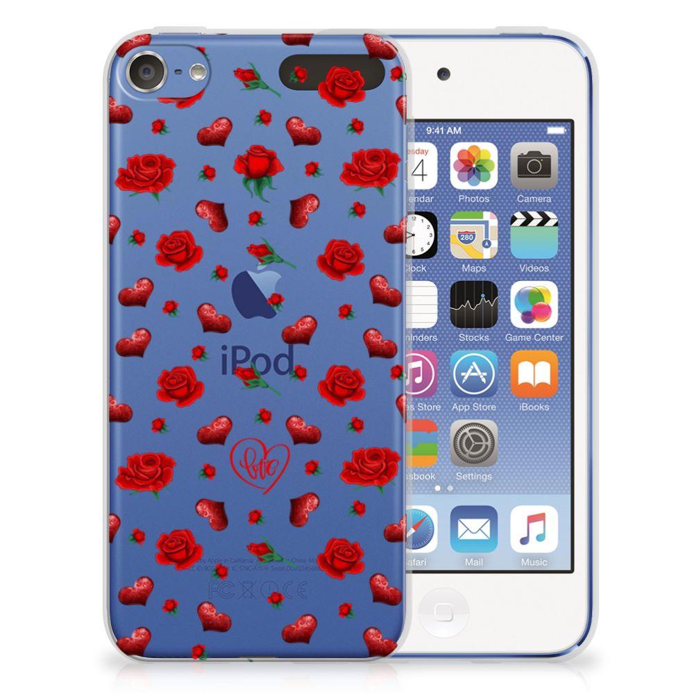 Apple iPod Touch 5 | 6 Telefoonhoesje met Naam Valentine