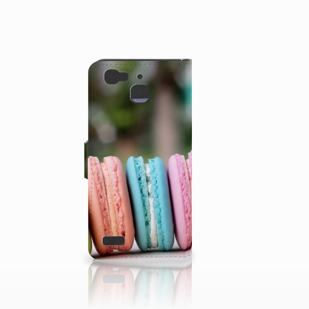 Huawei P8 Lite Smart (GR3) Book Cover Macarons