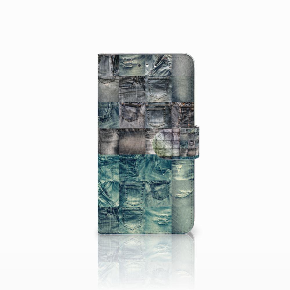 Huawei Y7 2017 | Y7 Prime 2017 Uniek Boekhoesje Spijkerbroeken