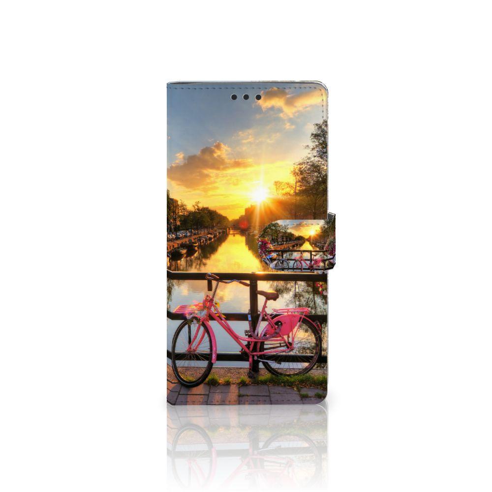 Sony Xperia XA Ultra Uniek Boekhoesje Amsterdamse Grachten