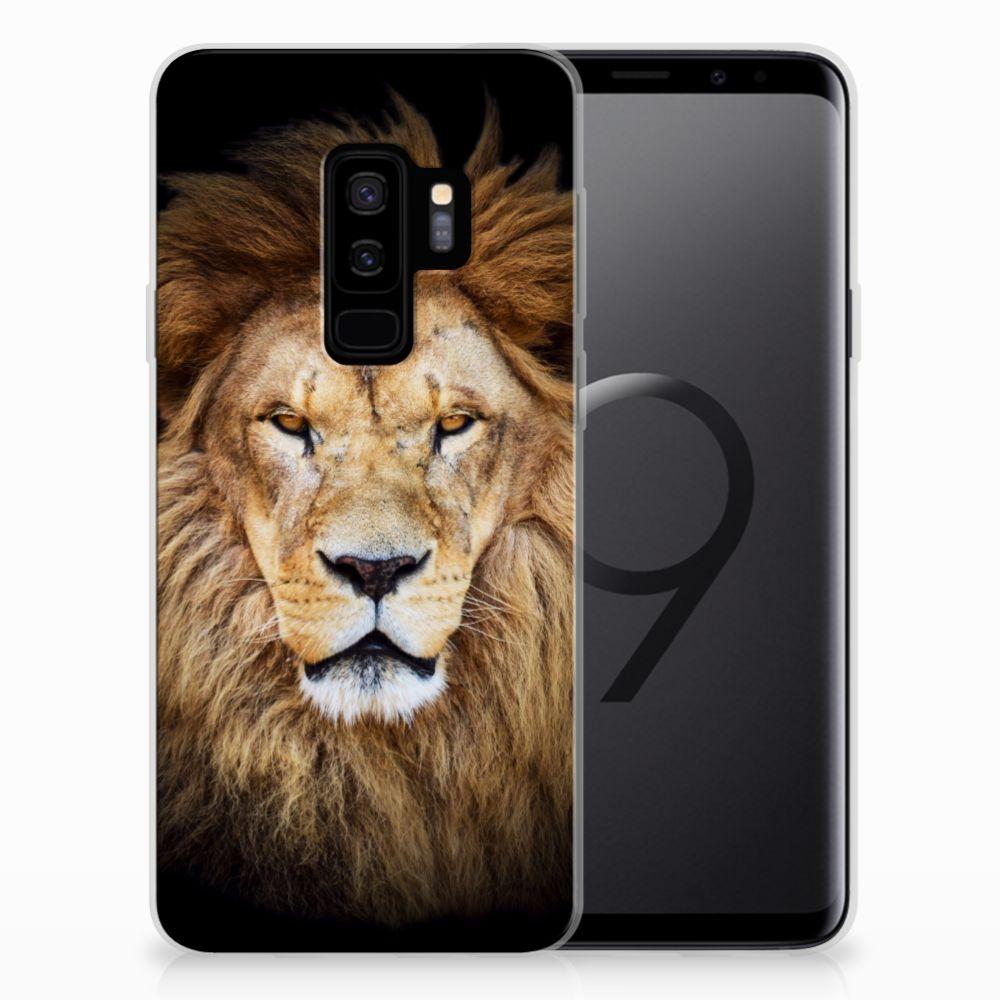 Samsung Galaxy S9 Plus TPU Hoesje Leeuw