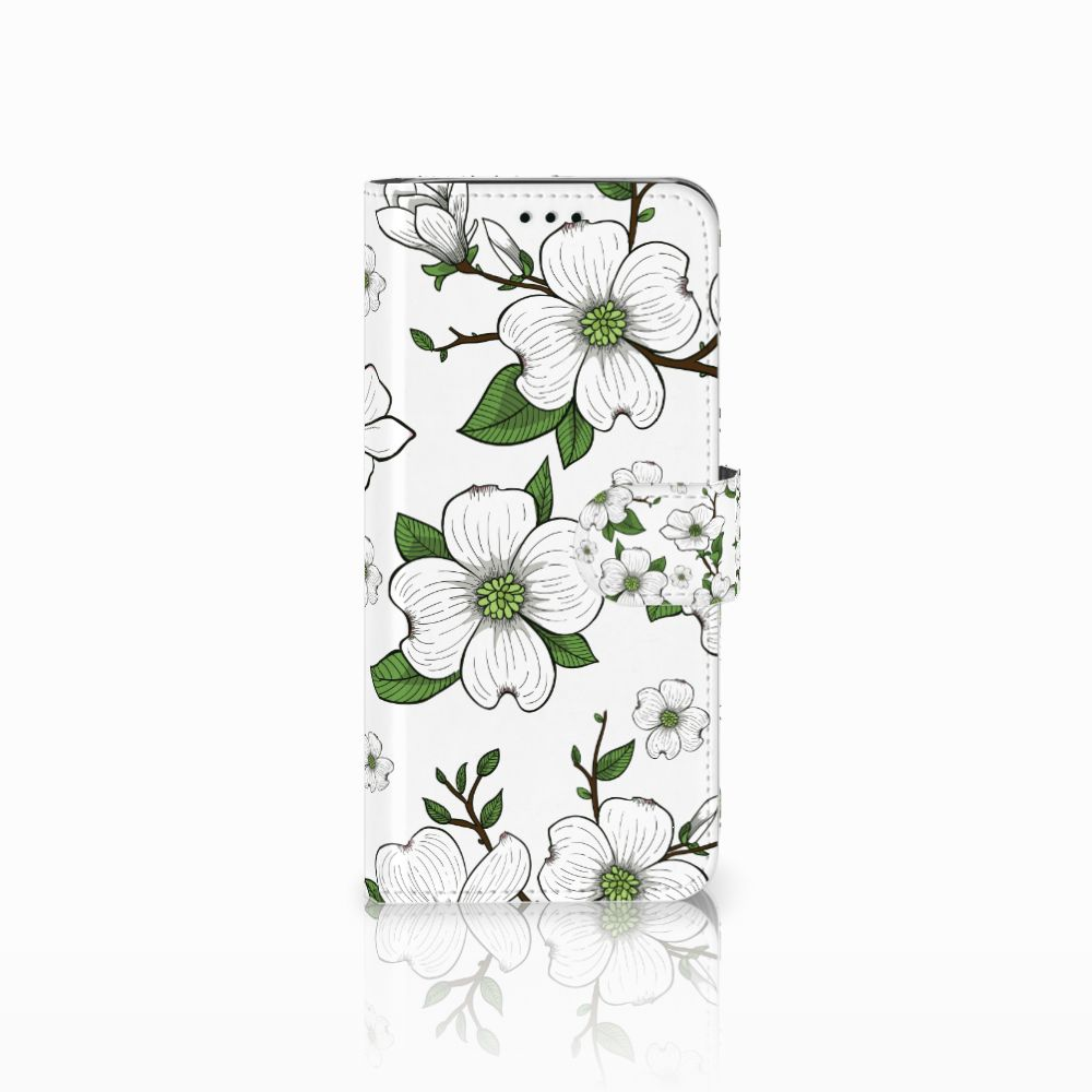 Samsung Galaxy J6 2018 Boekhoesje Design Dogwood Flowers