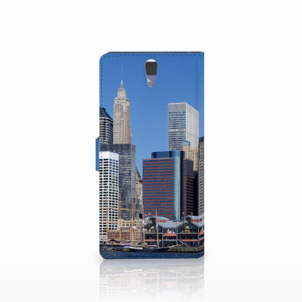 Sony Xperia C5 Ultra Flip Cover Vrijheidsbeeld
