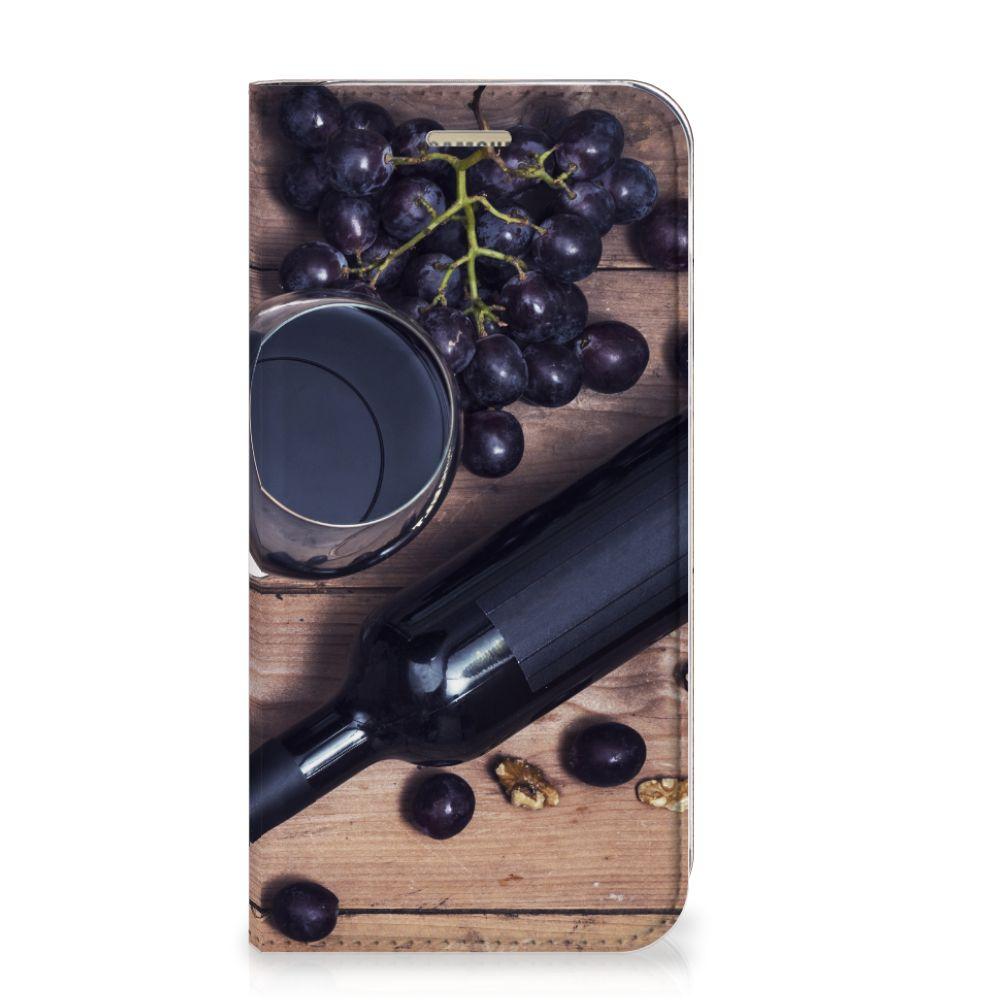 Samsung Galaxy A5 2017 Flip Style Cover Wijn