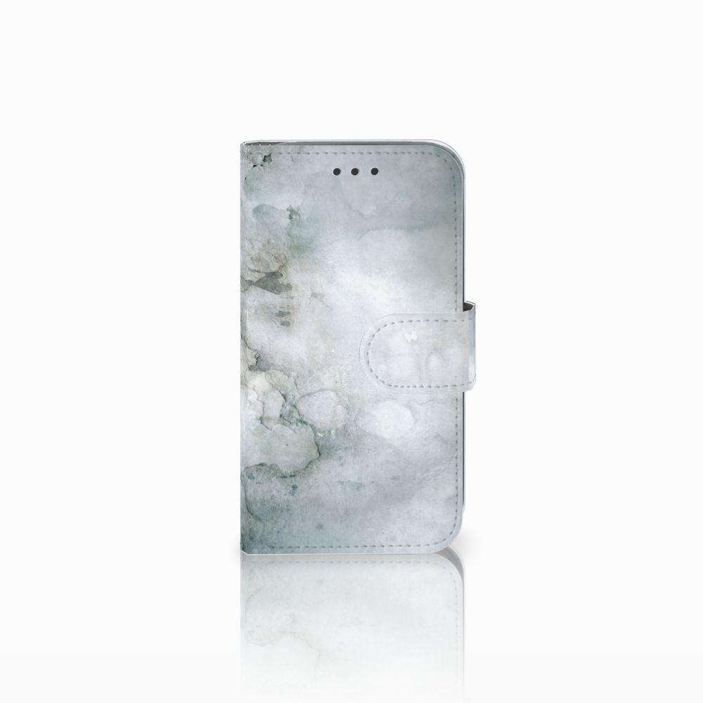 Samsung Galaxy Core Prime Uniek Boekhoesje Painting Grey