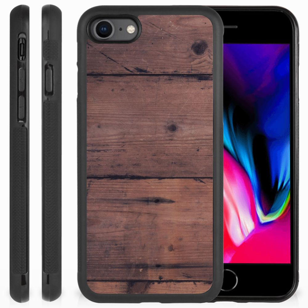 Apple iPhone 7 | 8 Grip Case Old Wood
