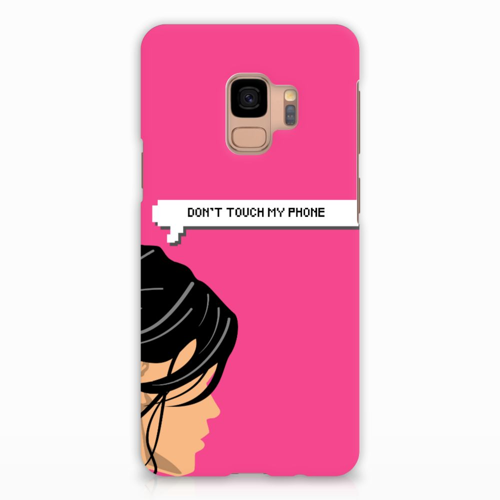 Samsung Galaxy S9 Rubber Case Woman DTMP