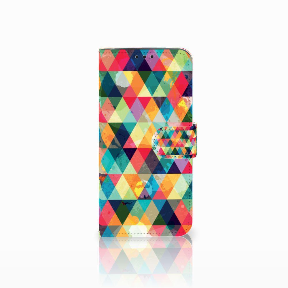Xiaomi Pocophone F1 Uniek Boekhoesje Geruit