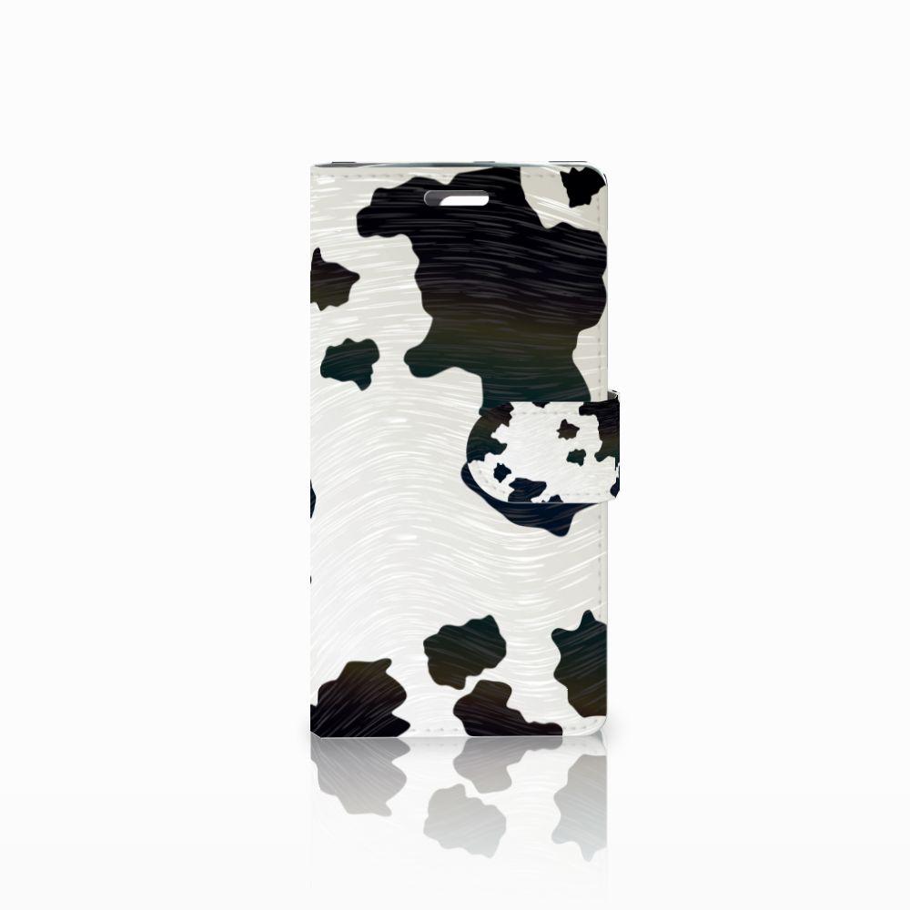 LG K10 2015 Boekhoesje Design Koeienvlekken