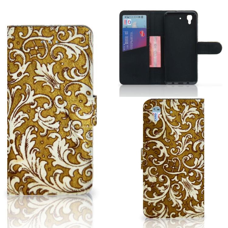 Wallet Case Honor 4A | Y6 Barok Goud