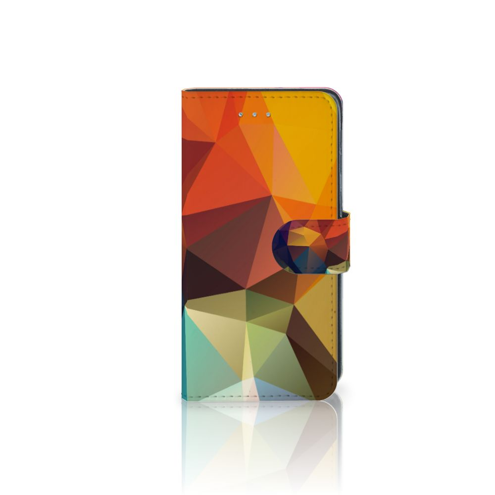 Samsung Galaxy J3 2016 Boekhoesje Design Polygon Color