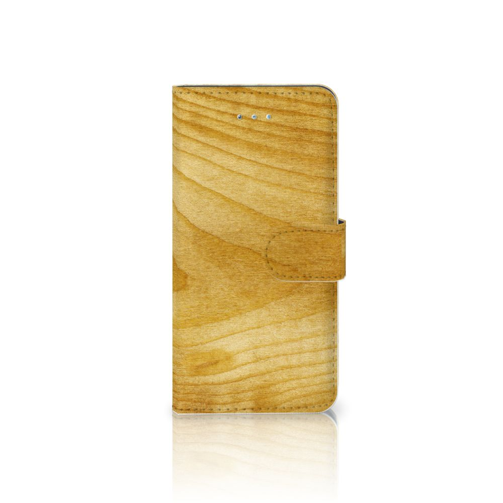 Honor 4A | Y6 Book Style Case Licht Hout