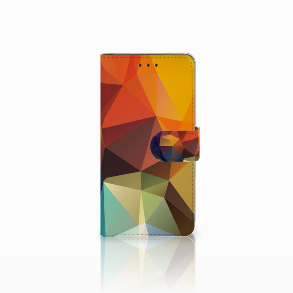 Huawei G8 Boekhoesje Design Polygon Color