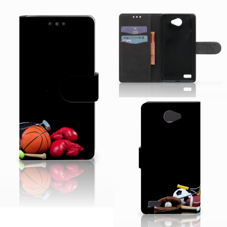 LG Bello 2 Wallet Case met Pasjes Sports