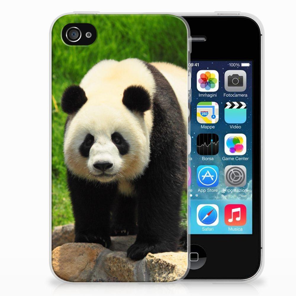 Apple iPhone 4 | 4s TPU Hoesje Design Panda