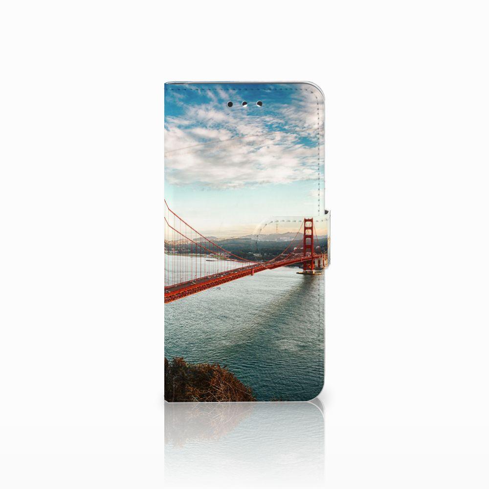 LG G7 Thinq Boekhoesje Design Golden Gate Bridge