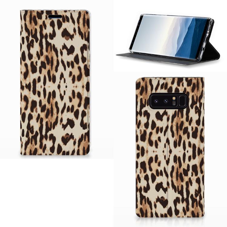 Samsung Galaxy Note 8 Hoesje maken Leopard