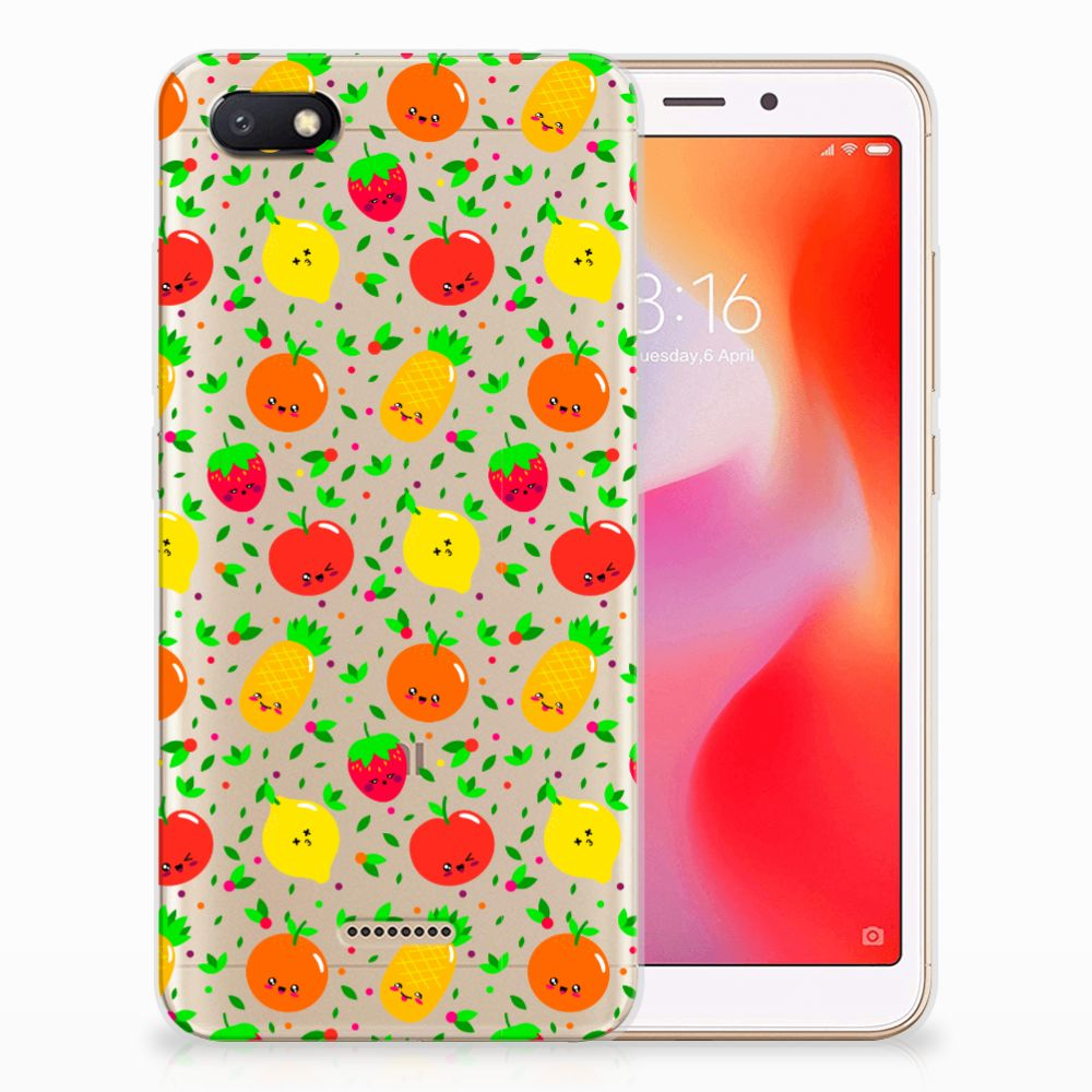 Xiaomi Redmi 6A Siliconen Case Fruits