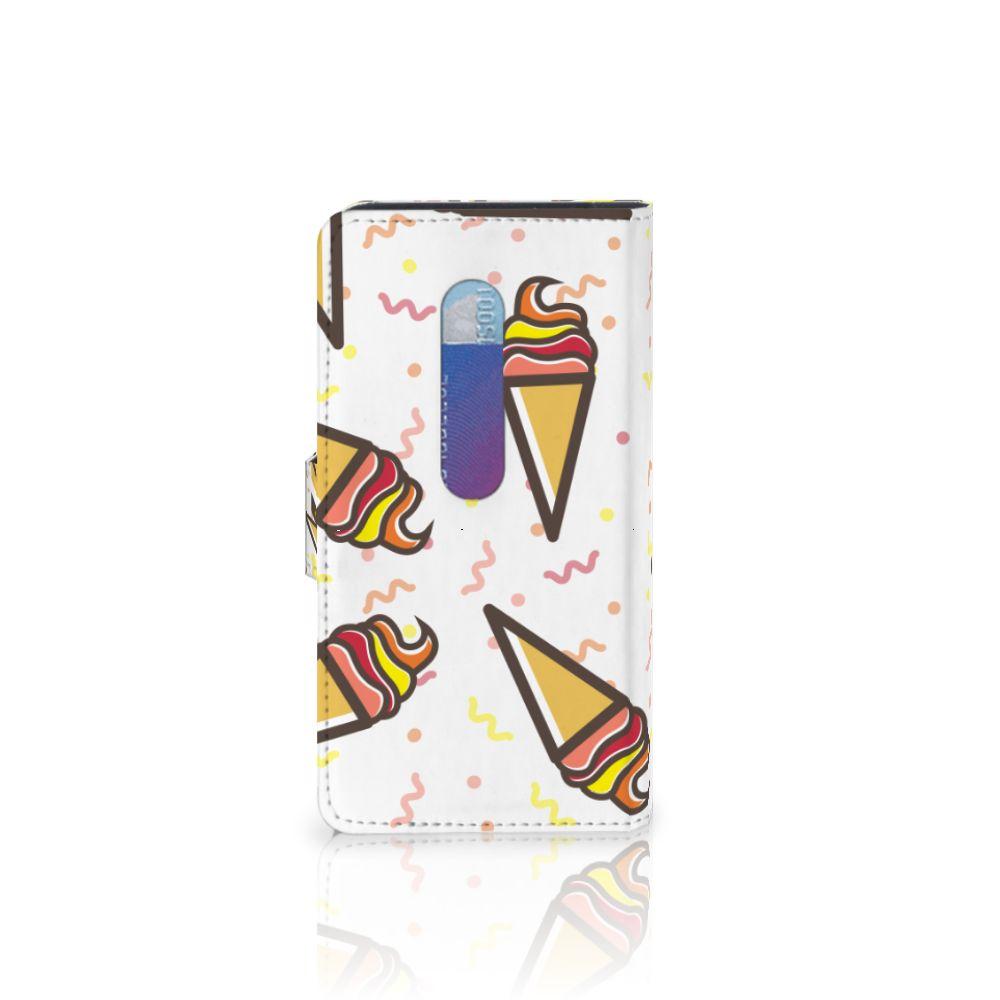 Motorola Moto G 3e Generatie Book Cover Icecream