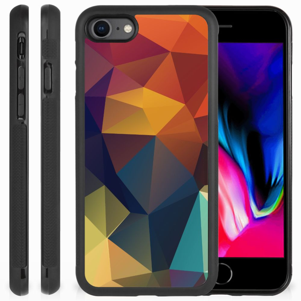 Apple iPhone 7 | 8 Grip Case Polygon Color