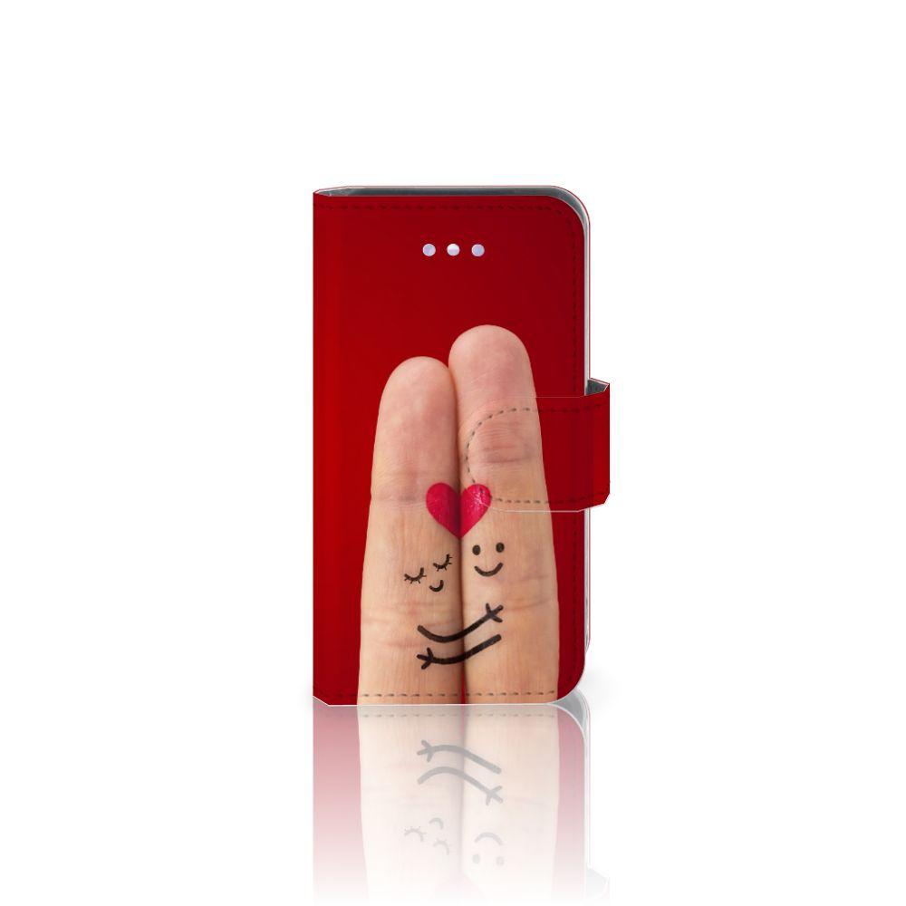 Apple iPhone 4 | 4S Wallet Case met Pasjes Liefde