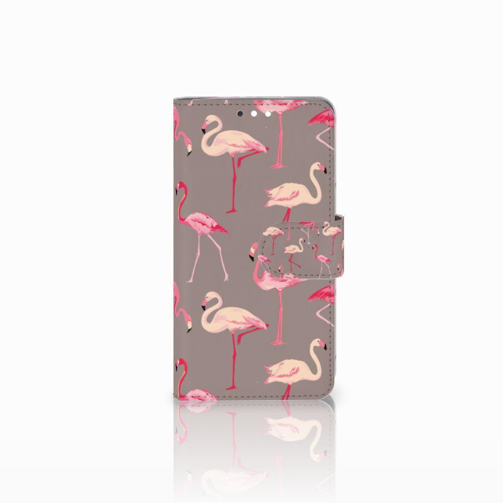 Nokia 8 Sirocco | Nokia 9 Uniek Boekhoesje Flamingo