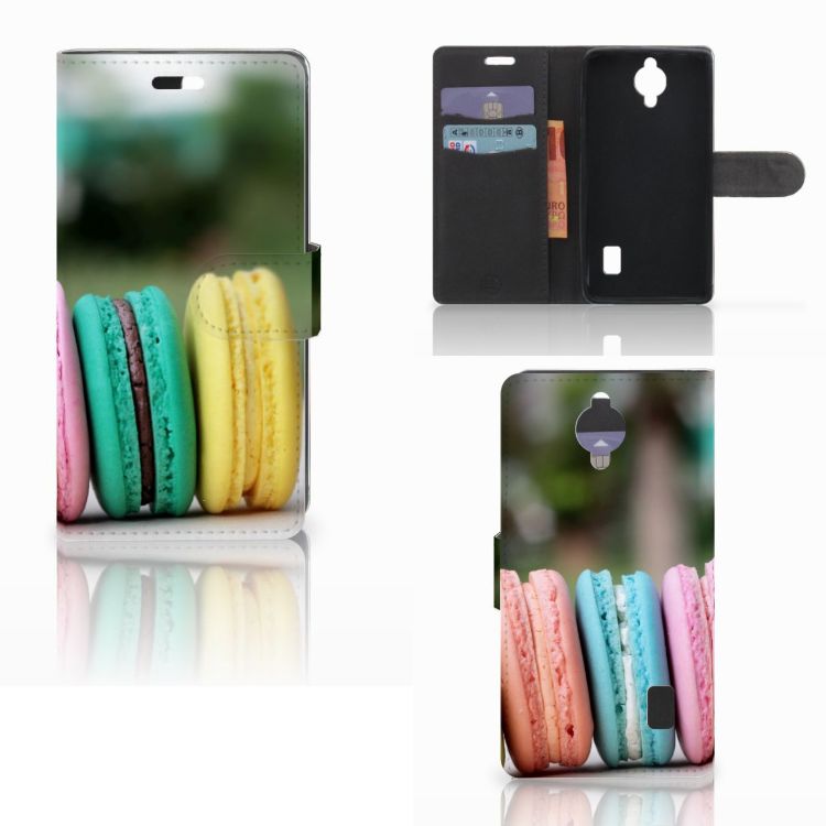 Huawei Y635 Book Cover Macarons