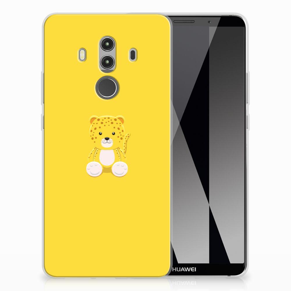 Huawei Mate 10 Pro Uniek TPU Hoesje Baby Lepperd