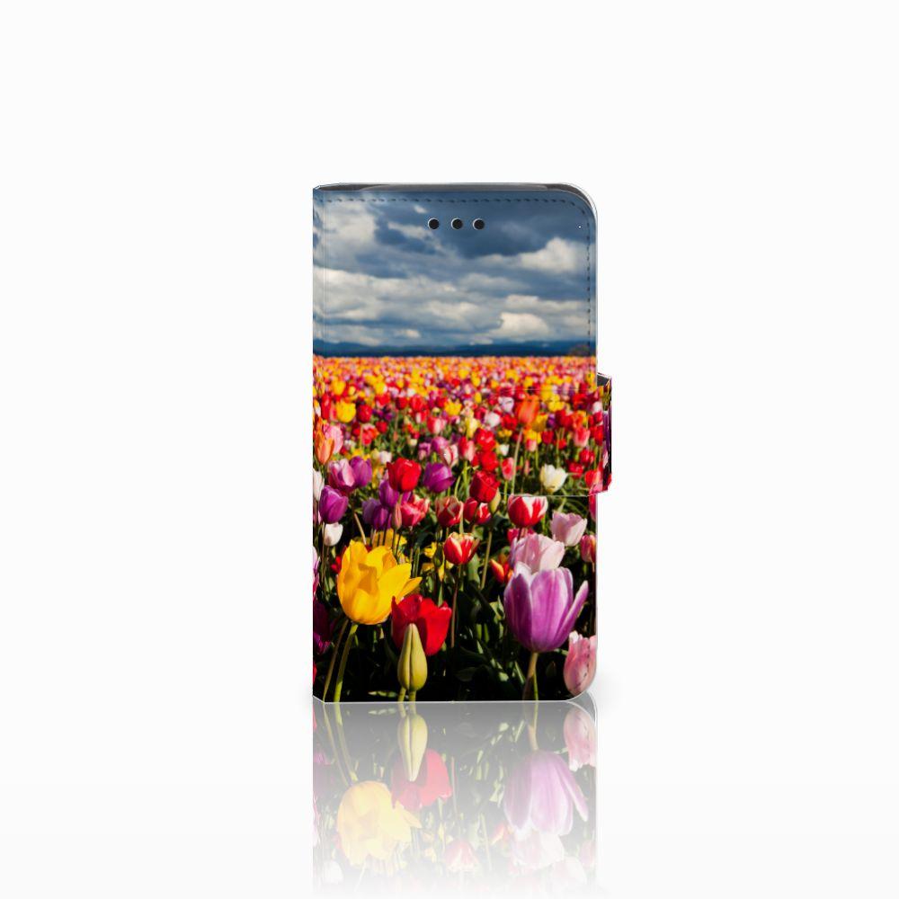 Samsung Galaxy Core i8260 Uniek Boekhoesje Tulpen