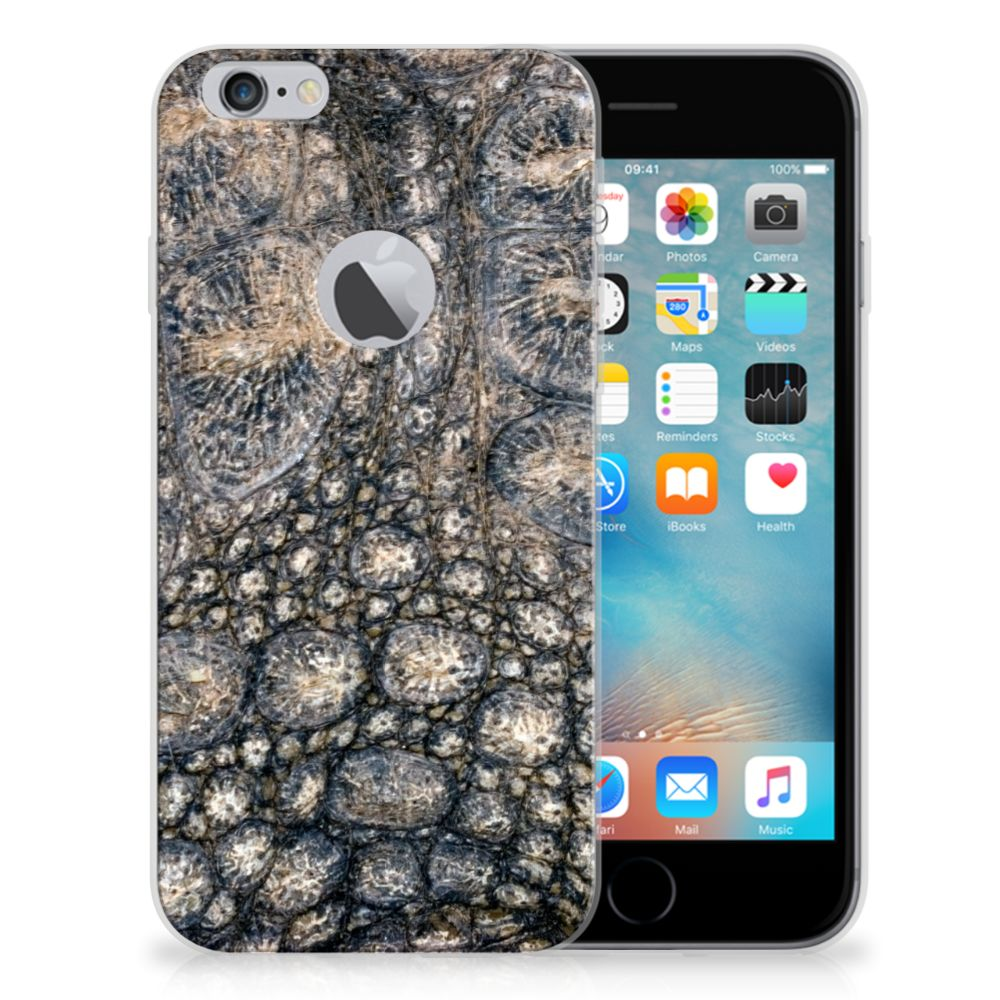 Apple iPhone 6 Plus | 6s Plus TPU Hoesje Krokodillenprint