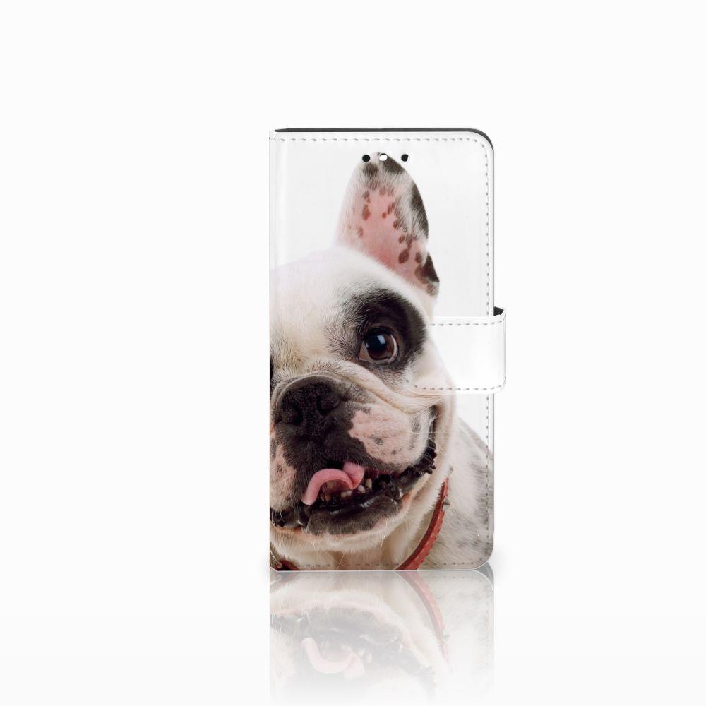 Huawei P8 Lite Smart (GR3) Uniek Boekhoesje Franse Bulldog
