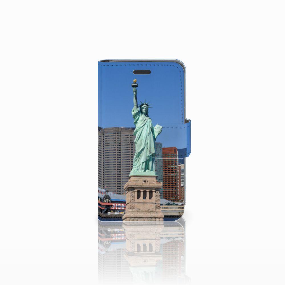 Nokia Lumia 520 Uniek Boekhoesje Vrijheidsbeeld