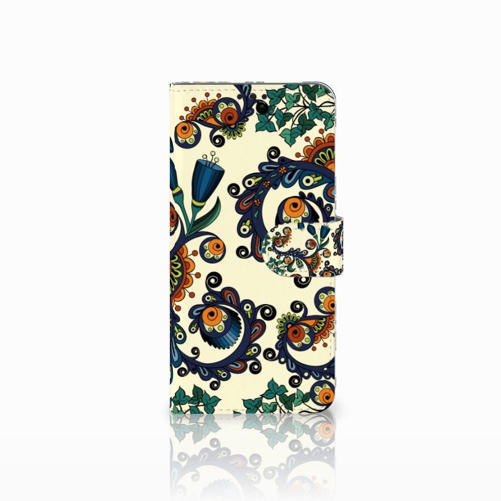 Huawei P Smart Plus Boekhoesje Design Barok Flower