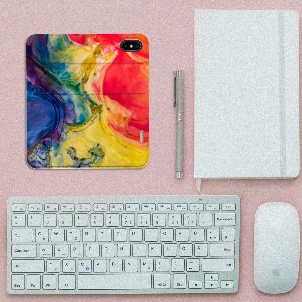 Bookcase Apple iPhone X | Xs Watercolor Dark