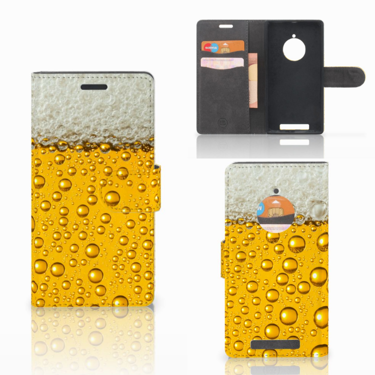 Nokia Lumia 830 Book Cover Bier