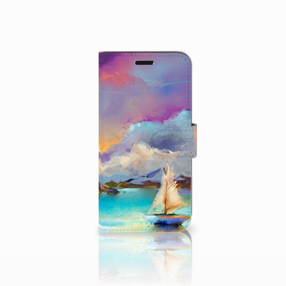 Huawei Nova Uniek Boekhoesje Boat