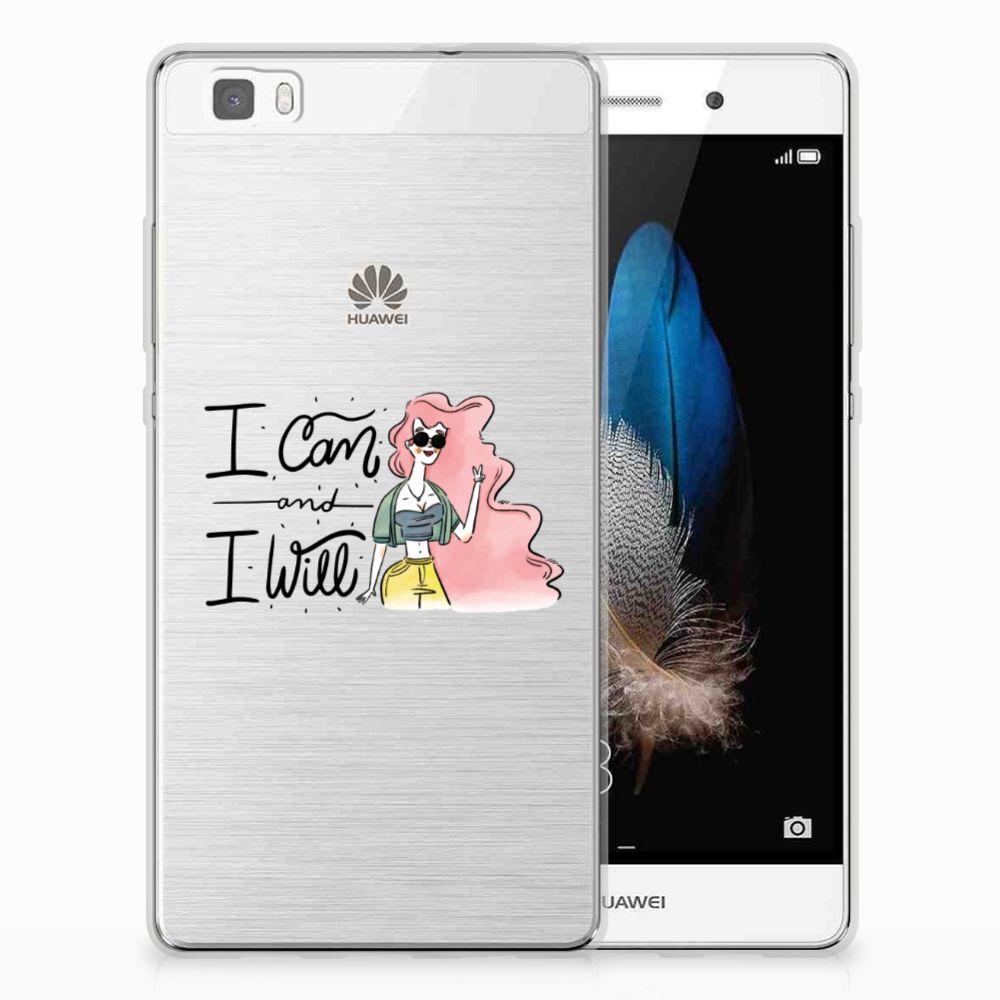 Huawei Ascend P8 Lite Telefoonhoesje met Naam i Can