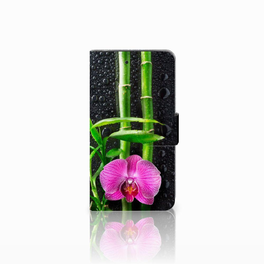 Samsung Galaxy J2 Pro 2018 Boekhoesje Design Orchidee