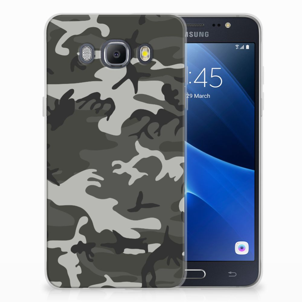 Samsung Galaxy J5 2016 Uniek TPU Hoesje Army Light