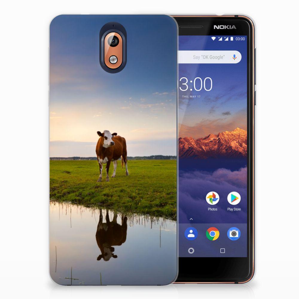 Nokia 3.1 (2018) TPU Hoesje Design Koe