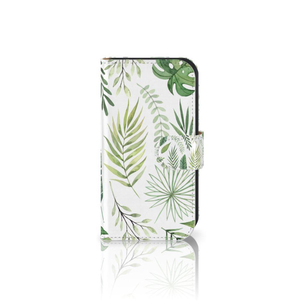 Samsung Galaxy Ace 4 4G (G357-FZ) Uniek Boekhoesje Leaves