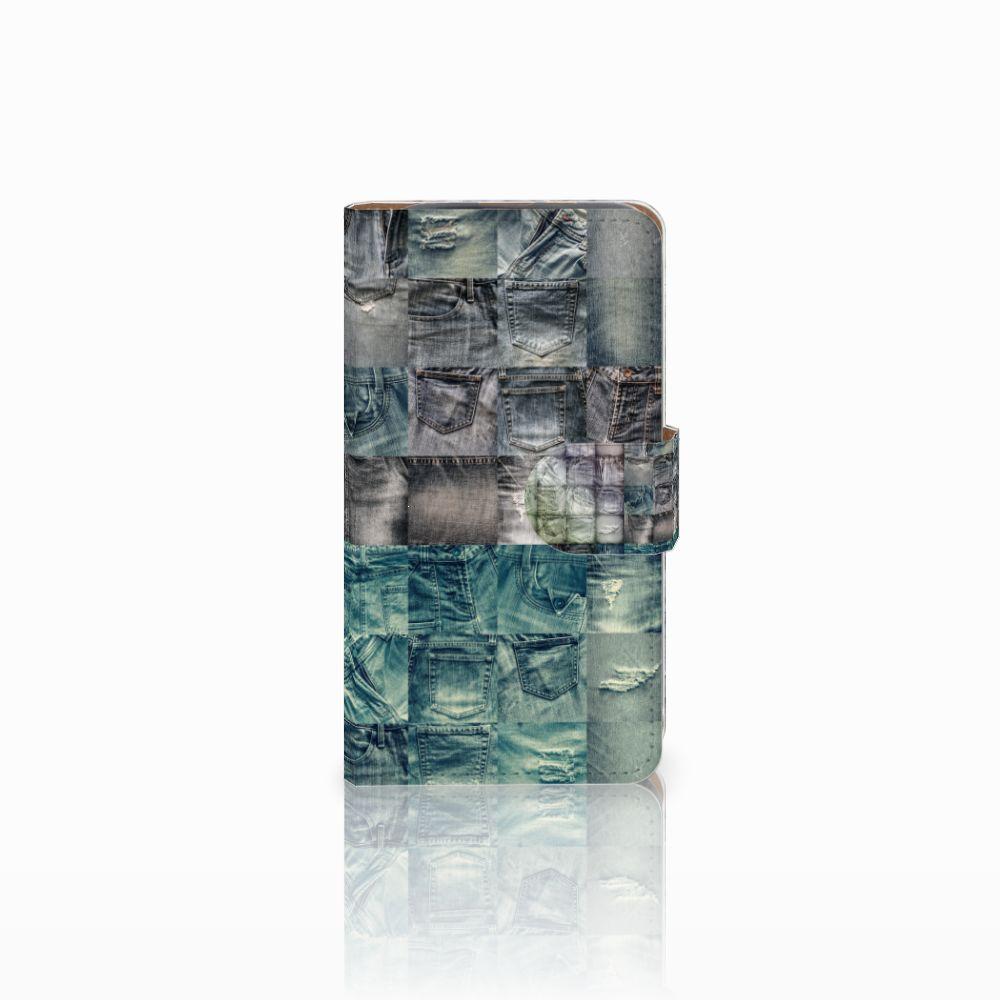 HTC Desire 310 Uniek Boekhoesje Spijkerbroeken