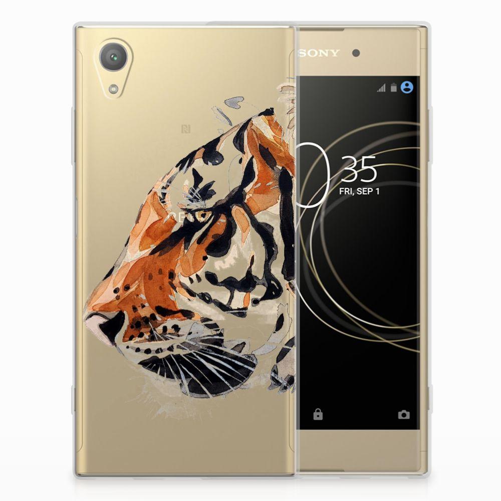 Hoesje maken Sony Xperia XA1 Plus Watercolor Tiger