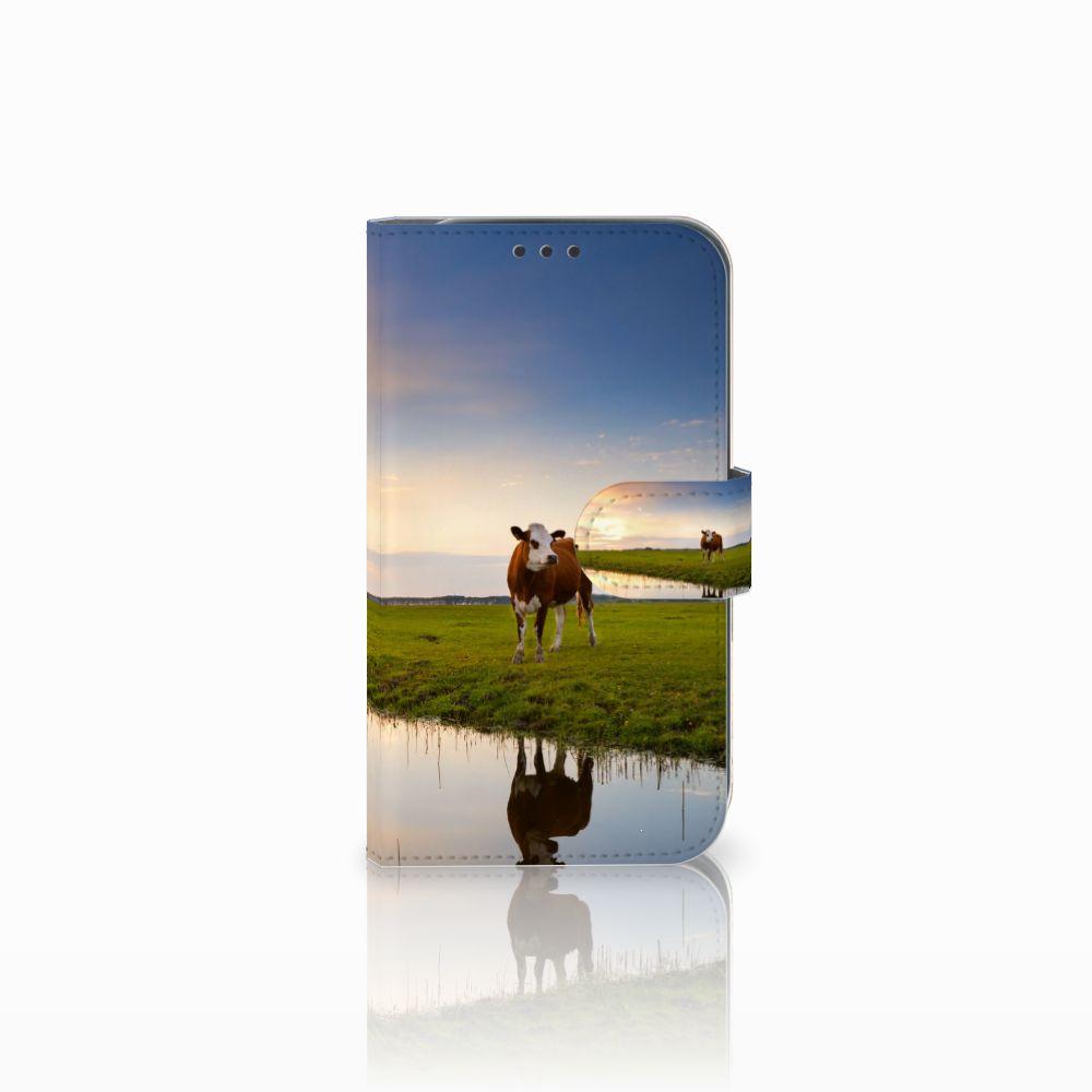 Samsung Galaxy Xcover 4 Boekhoesje Design Koe