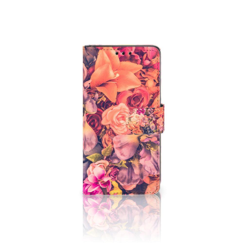 Sony Xperia Z5 | Z5 Dual Boekhoesje Design Bosje Bloemen
