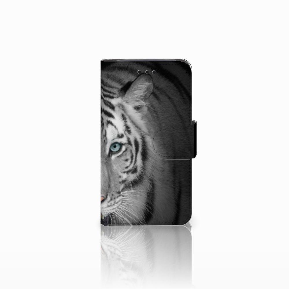 Samsung Galaxy Core i8260 Uniek Boekhoesje Tijger