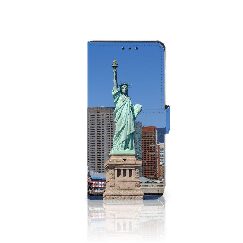 Huawei Mate 20 Lite Uniek Boekhoesje Vrijheidsbeeld