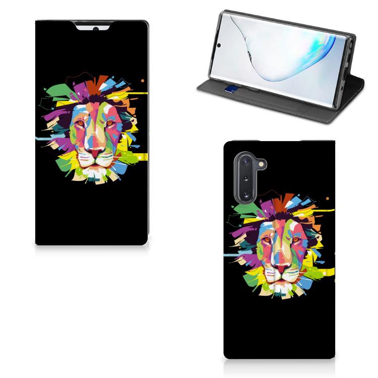 Samsung Galaxy Note 10 Magnet Case Lion Color